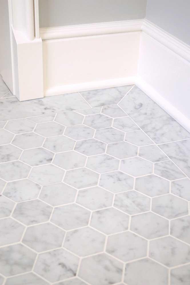 Bianco Venatino 3in Hexagon 2x16 003