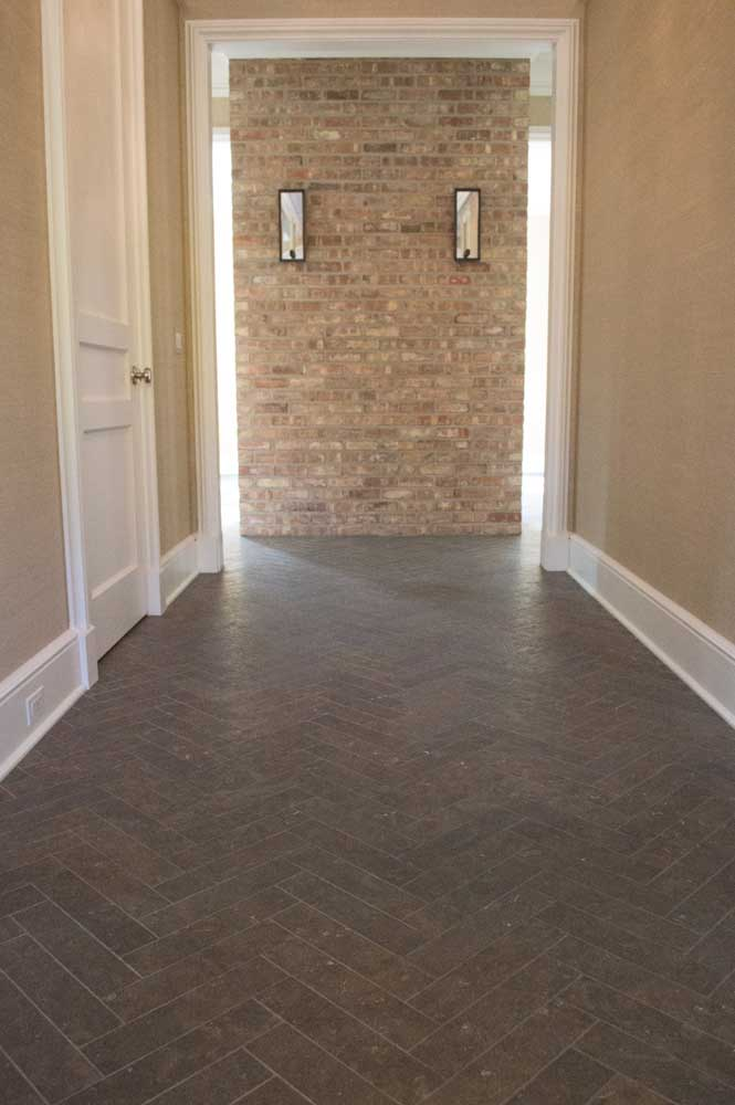 St Andrews Antiqued Herringbone 3x12 004